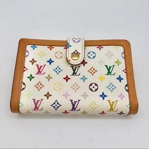Louis Vuitton White Monogram Wallet